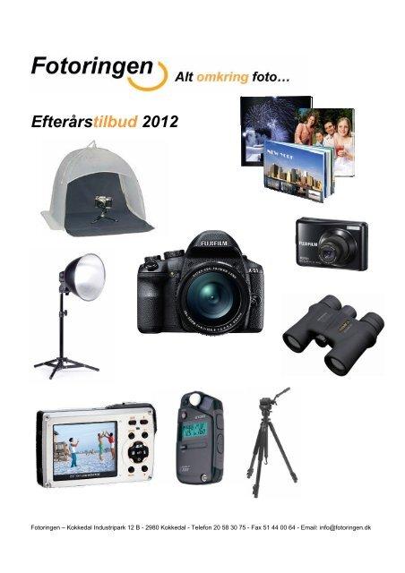Efterårstilbud 2012 - Fotohouse