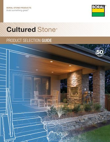 Cultured Stone® Product Selection Guide - Brock White
