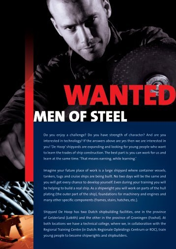MEN OF STEEL - De Hoop