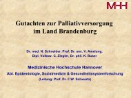 Amelung_Palliativversorgung in BB - Tumorzentrum Land ...