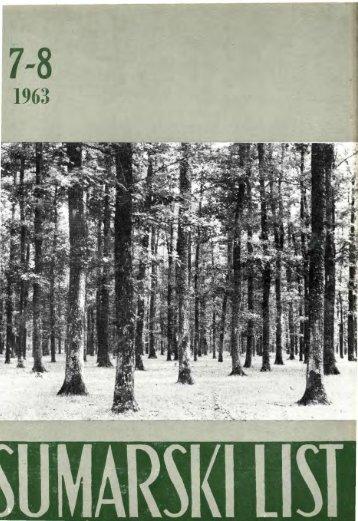 ÅUMARSKI LIST 7-8/1963
