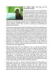 The Palestine Nakba, Land Day, and the ... - Ludwig Watzal