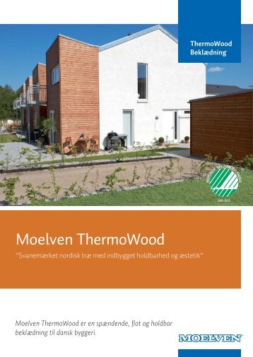 ThermoWood Beklædning - Moelven