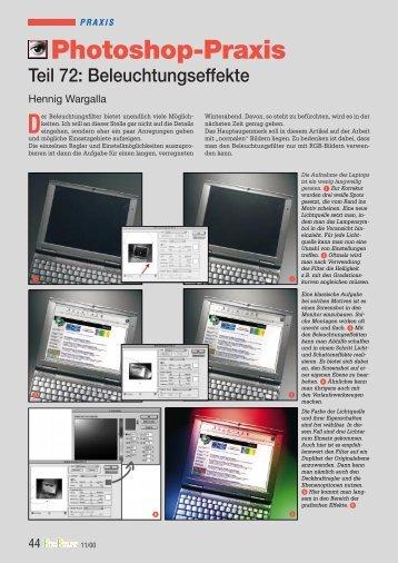 11/2000 Beleuchtungseffekte - Hennig Wargalla