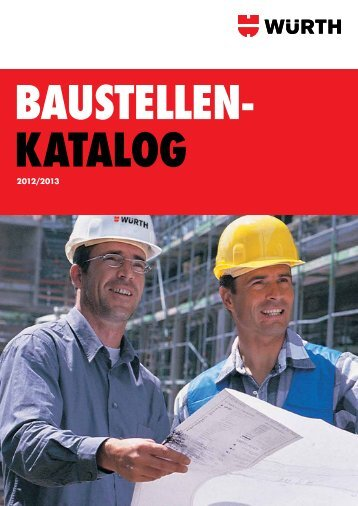 Baustellenkatalog - Würth