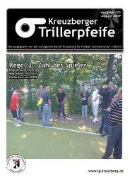 Regel 3 - Zahl der Spieler - LG Kreuzberg