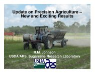 Update on Precision Ag Research - New and Existing Results