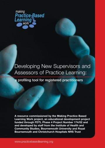 Making practice-based learning - Routledge