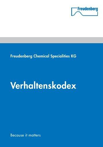 Verhaltenskodex herunterladen (PDF) - Chem-Trend