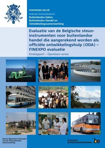 Evaluatierapport (PDF, 6.47 MB) - Buitenlandse Zaken - Belgium