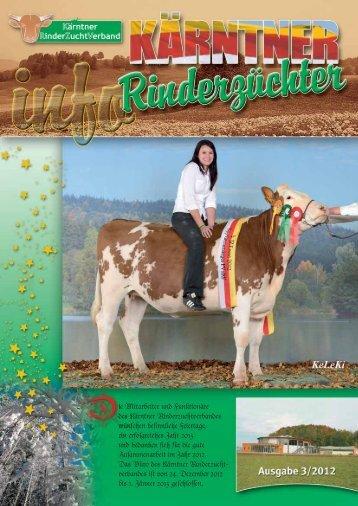 Ausgabe 3/2012 - Kärntner Rinderzuchtverband