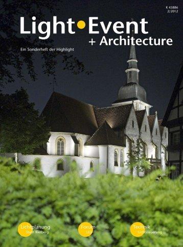 Light - Event + Architecture - Stadt Rietberg