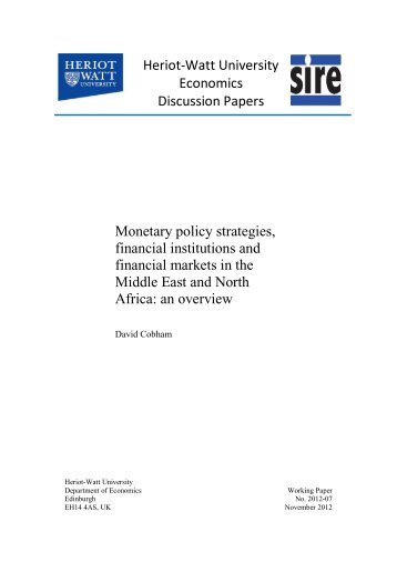 monetary policy and financial institutions of kenya Financial factors influencing performance of savings and credit co-operative organization in kenya  financial institutions continue to grow day by day some banks .