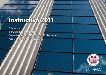 Instructivo 2011 - Universidad del CEMA