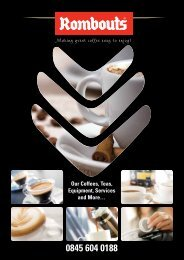 One Cup Filter Coffees Rombouts Coffee Pods