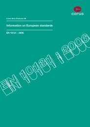 Information on European standards - Tata Steel