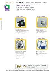 Seilzugleitern (Schiebeleitern mit Seilzug) 3-teilig - FERESTA GmbH
