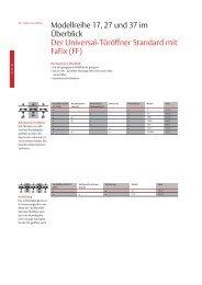 Standard mit FaFix - Aachener Sicherheitshaus Rennert