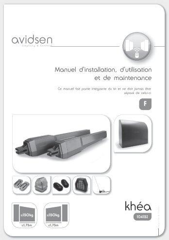 kit motorisation Advidsen 104152 - SolairePratique.com