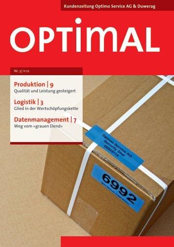 Ausgabe Nr. 3/12 - Optimo Service AG