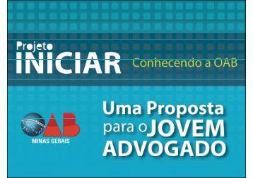 Projeto Iniciar - Ordem dos Advogados do Brasil
