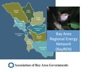 San Francisco Bay Area Regional Energy Network (BayREN) - Local ...