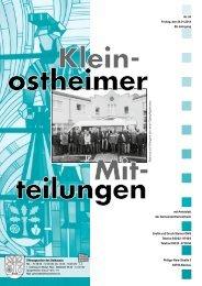 Amtsblatt Nr. 4 vom 24.01.2014 - Kleinostheim