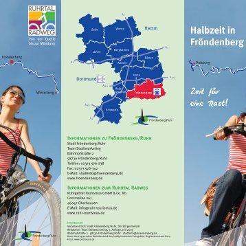 Halbzeit in Fröndenberg Zeit für eine Rast!