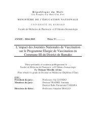 L'impact des Journées Nationales de Vaccination sur le Programme ...