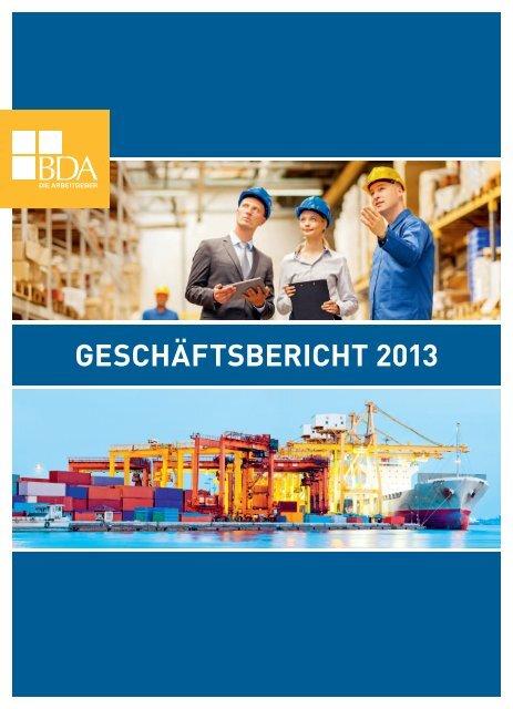 Geschäftsbericht 2013 - Bundesvereinigung der Deutschen ...