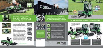 Egholm Geräteträger 2150 - Zberg Motorgeräte AG