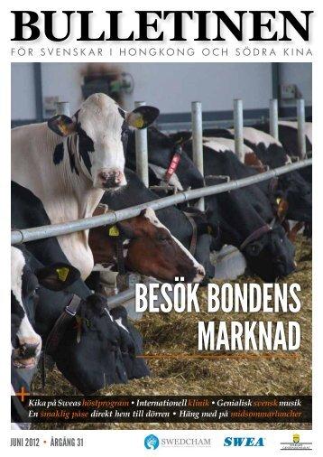 Bulletinen June 2012 - The Swedish Chamber of Commerce in ...