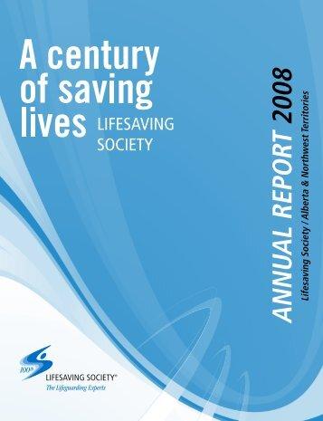 ANNUAL REPORT 2008 - Lifesaving Society