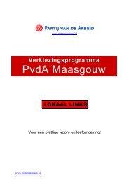 PvdA Maasgouw - MGL