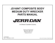 JD16INT COMPOSITE BODY MEDIUM DUTY WRECKER ... - Jerr-Dan