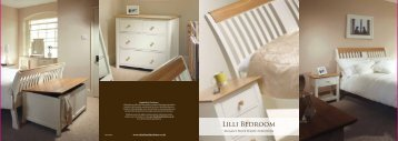 Lilli Bedroom - Charltons Furniture