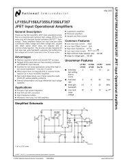 2-er pack + Lf356n J-FET opamp National Semiconductor + +
