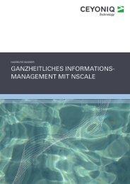 Referenzbericht als PDF-Download - Ceyoniq Technology GmbH