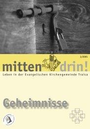 drin! mitten - Evangelische Kirchengemeinde Traisa