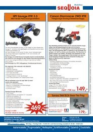 HPI Savage RTR 3.5 Carson Stormracer 2WD RTR