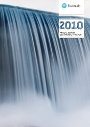 annual report sustainability report - Statkraft