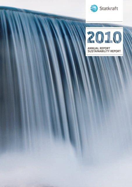 annual report sustainability report - Statkraft