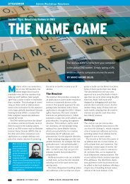 Insider Tips: Resolving Names in DNS - Linux Magazine