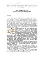 desenvolvimento de software para dispositivos móveis - PUC-Rio