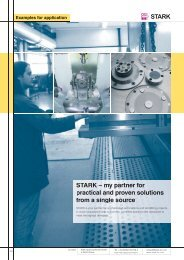 from setting up to processing - bei STARK Spannsysteme Gmbh