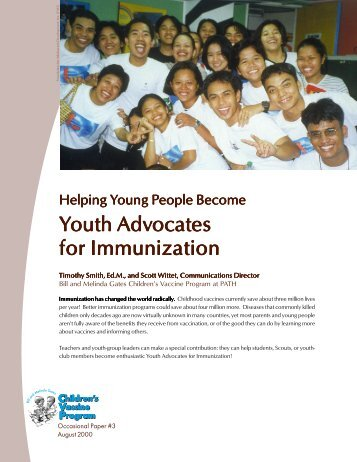 Helping Young People Become Youth Advocates for ... - Path