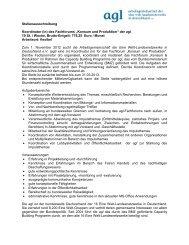 Stellenausschreibung Koordinator (in) des Fachforums ... - ELAN