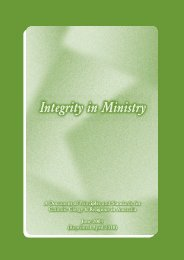 Integrity-in-Ministry-2010 - Catholic Education Office