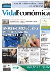 empresas portuguesas pagam tsu acima da - Vida Económica