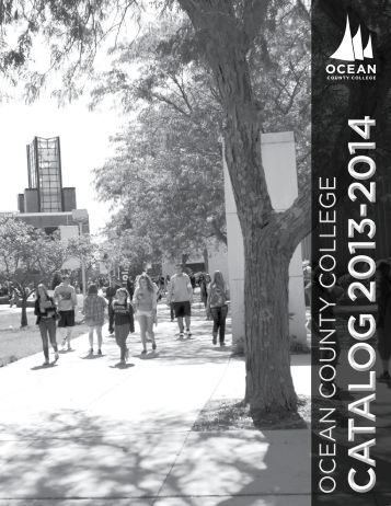 current college catalog. - Ocean County College